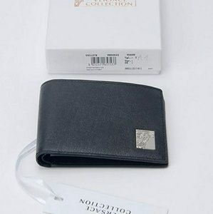 Versace Collection Bags - Versace Collection Leather Men's Bi-Fold Wallet